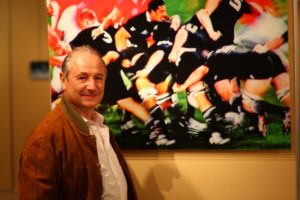 Patrick Braoudé rugby Galerie 21 Toulouse