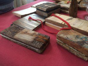 Livre de bois Françoise Delmas Galerie 21