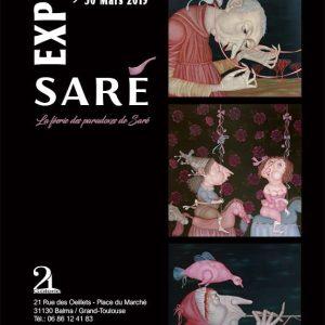 Affiche Saré Galerie 21