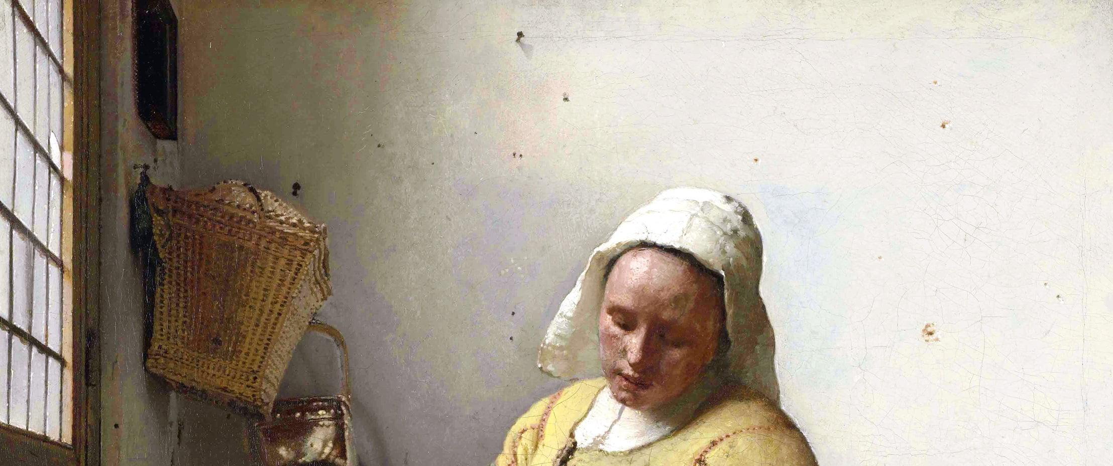 detail de la toile de Vermeer