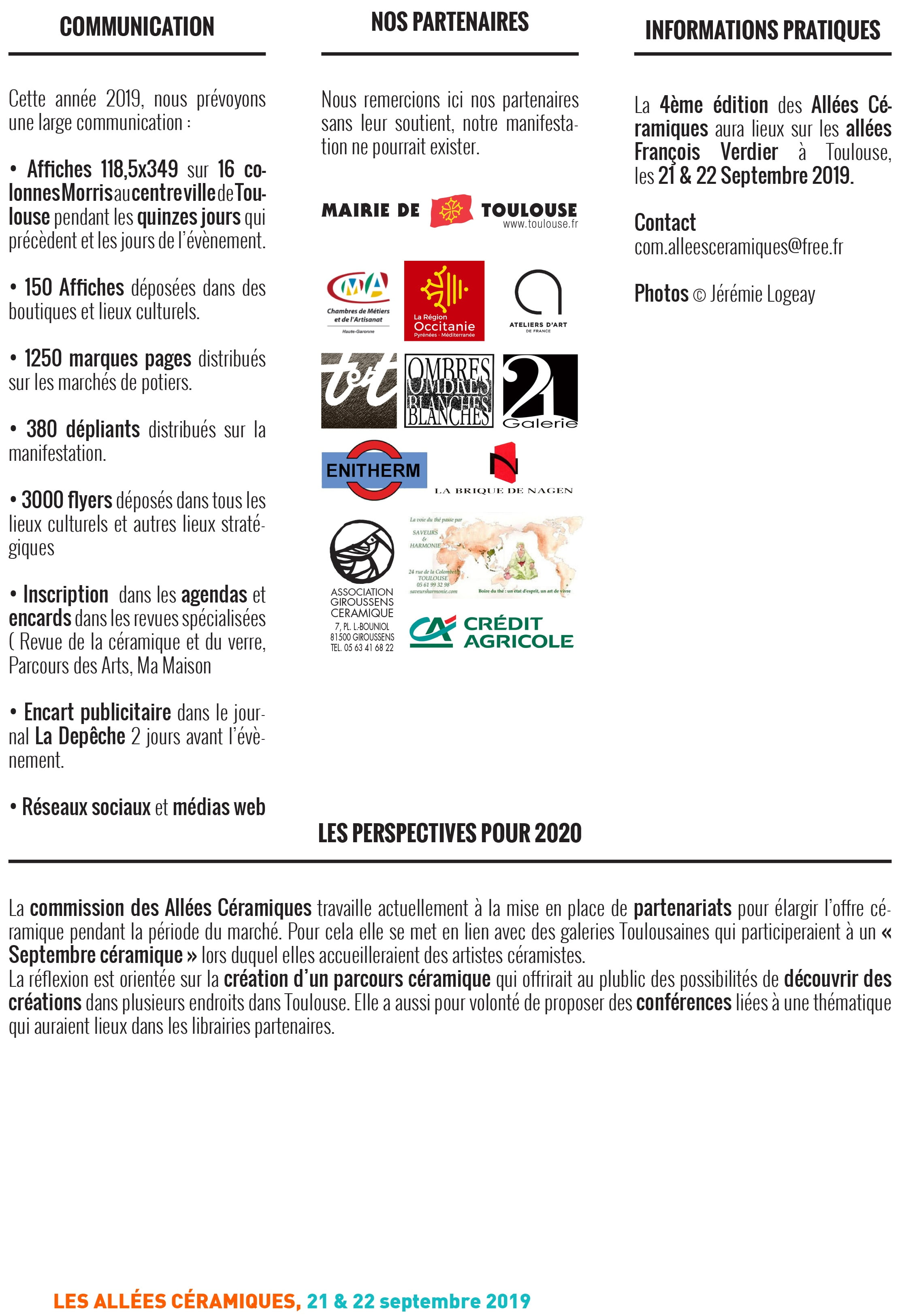 Dossier Presentation Ceramique Toulouse Galerie 21