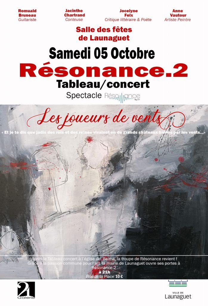 Affiche launaguet Résonance By 21