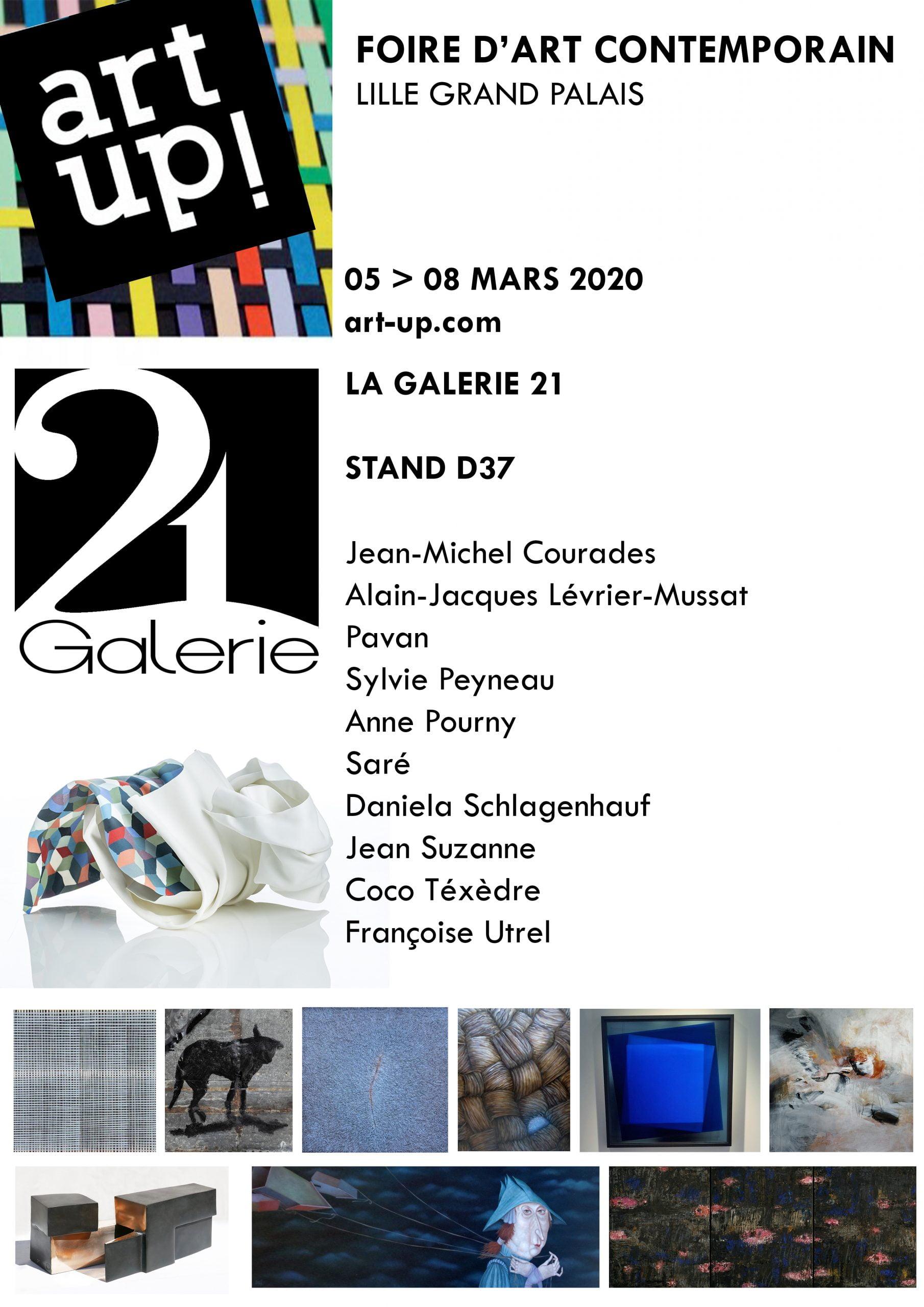 Art Up Lille La Galerie 21 participe