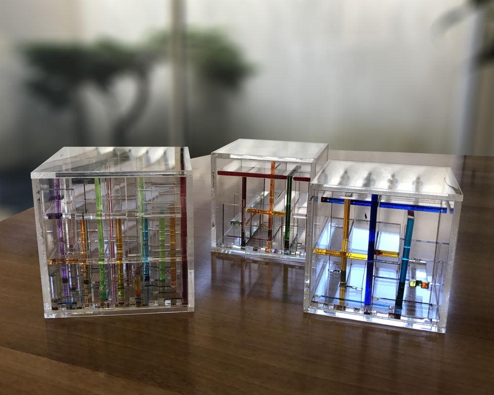 Cube passage