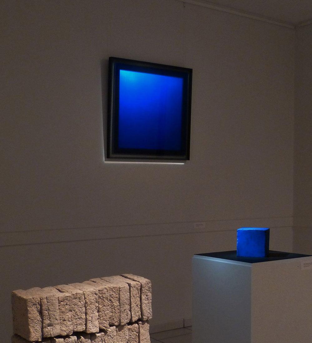 Bleu outre physique AJLM Galerie21